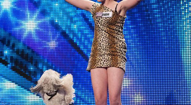 Twice as many people tuned in to see Ashleigh and Pudsey win Britain's Got Talent than watched The Voice on BBC1 (ITV/PA)