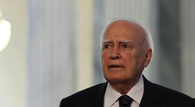 Talks convened by Greek president Karolos Papoulias ended with no deal in sight (AP)