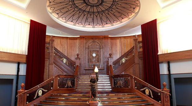 Centrepiece: The staircase is normally the preserve of corporate guests