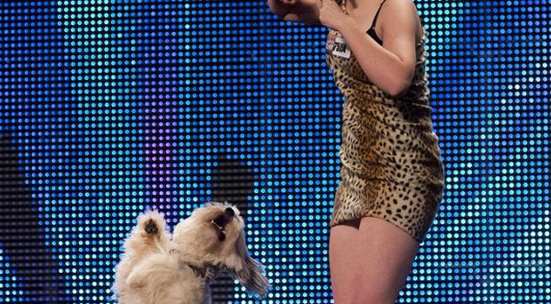 Ashleigh Butler has said it was a 'complete shock' when she and her dog Pudsey won Britain's Got Talent (ITV/PA)