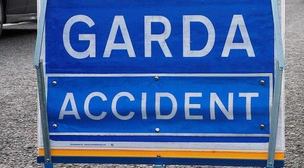 A truck driver was killed when he crashed in to a ditch at Drummora