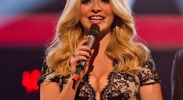 Holly Willoughby's cleavage was the big talking point on The Voice