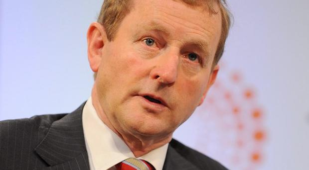 Enda Kenny has attended the National Famine Commemoration in Drogheda
