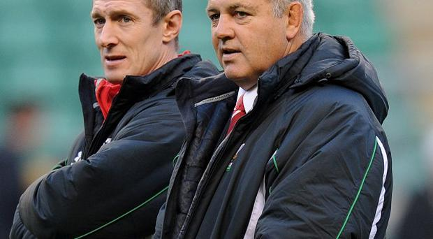 Warren Gatland (right) and Rob Howley