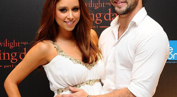 Una Healy said she found her man's stag night antics a bit embarrassing