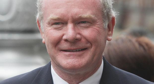 Martin McGuinness has urged the Assembly to support 'The Gathering'