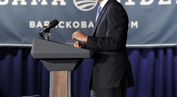 President Barack Obama speaks at a fundraiser hosted by singer Ricky Martin and the LGBT Leadership Council at the Rubin Museum of Art (AP Photo/Pablo Martinez Monsivais)