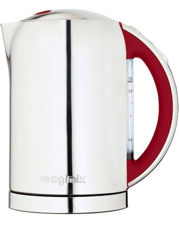 <b>Magimix - £79.99, johnlewis.com:</b><br/> There's a feeling of real quality with this Magimix kettle, which is solid, shiny and stylish, as well as being quick and able to boil just one mug of water at a time