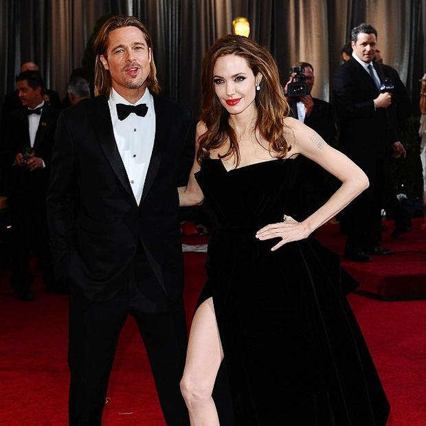 Angelina Jolie has reportedly bought Brad Pitt a helicopter