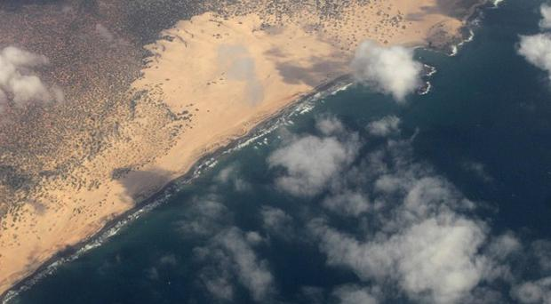 The EU naval force has carried out air strikes against pirate targets along the Somali coastline