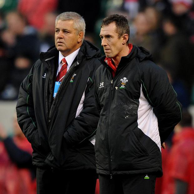 Rob Howley (right)