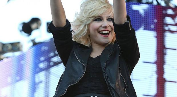 Pixie Lott performs at MTV Presents Titanic Sounds in Belfast