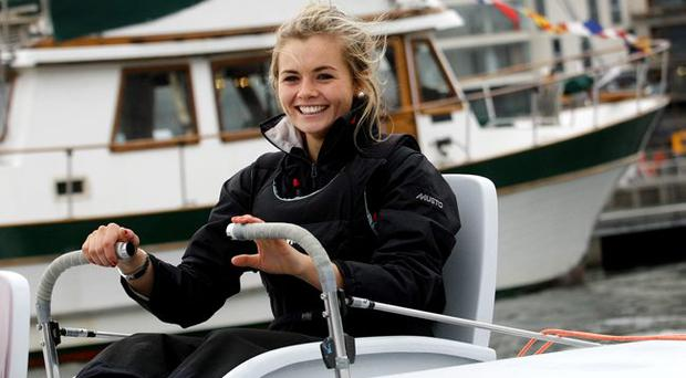 Tiffany Brien sailing from Scotland to Belfast for charity