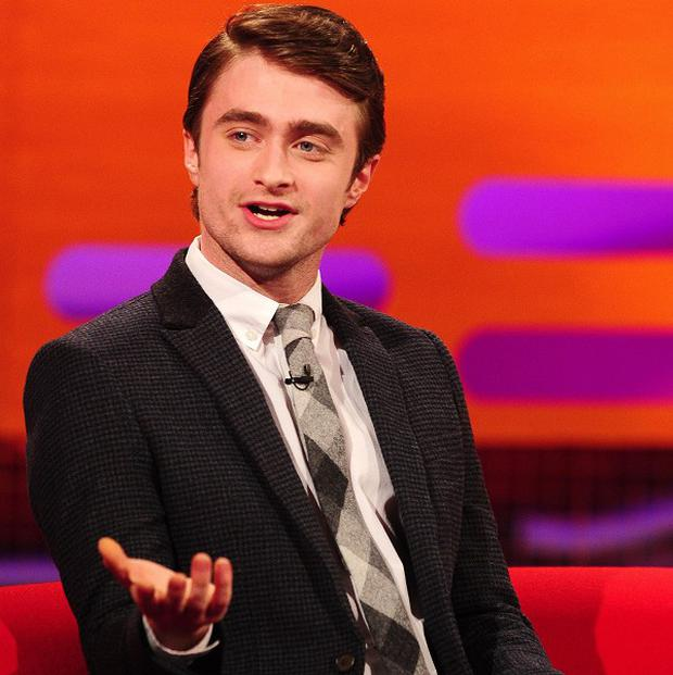 Daniel Radcliffe doesn't like watching himself on screen