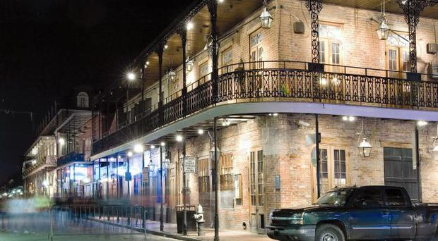 The French Quarter, the city of New Orleans' oldest neighbourhood