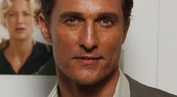 Matthew McConaughey starred alongside Christian Bale in Reigh Of Fire