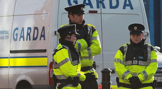 Four people have been arrested across Dublin over a raid on a cash-in-transit-vehicle in February