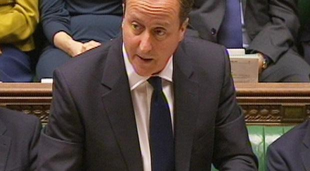 Prime Minister David Cameron sought to brush off a jibe about his relationship with Rebekah Brooks during PMQs