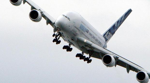 EADS had to fix parts of the wings on the A380 superjumbo