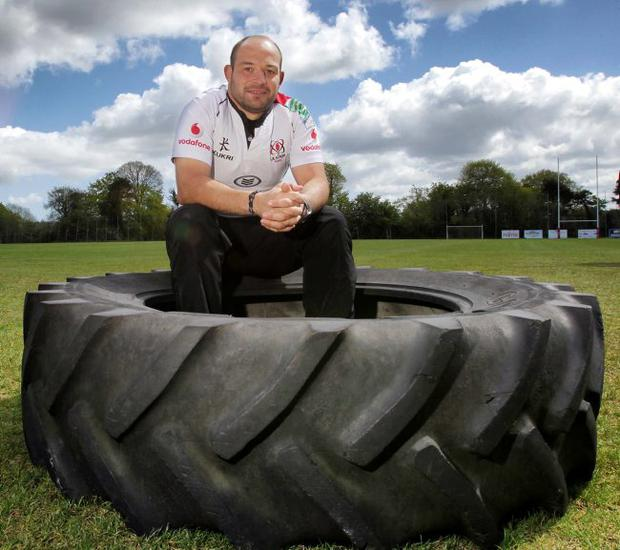 No fear: Irish international Rory Best knows what it is like to play at Twickenham