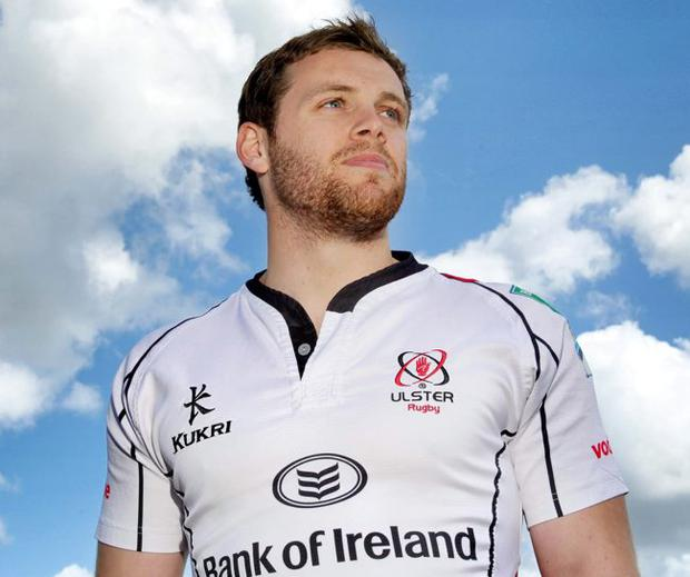 Ready for battle: Ulster's Darren Cave has his sights on European glory