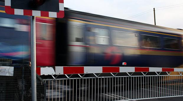 The number of crimes committed on Britain's railways has fallen for the eighth successive year