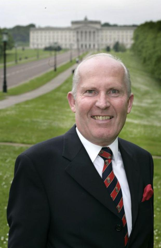 Jim Rodgers outside Stormont