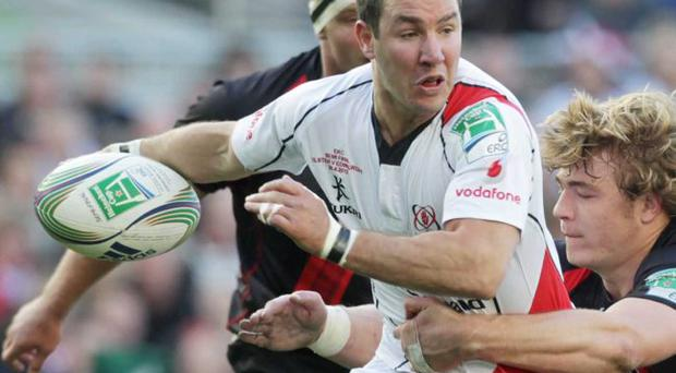 Under the radar: Paddy Wallace believes Ulster will be helped by the fact they go into the Heineken Cup as underdogs