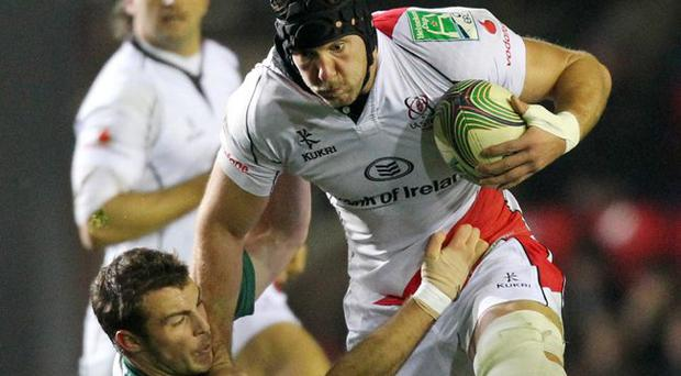 More to come: Stephen Ferris says that Ulster haven't yet hit their peak