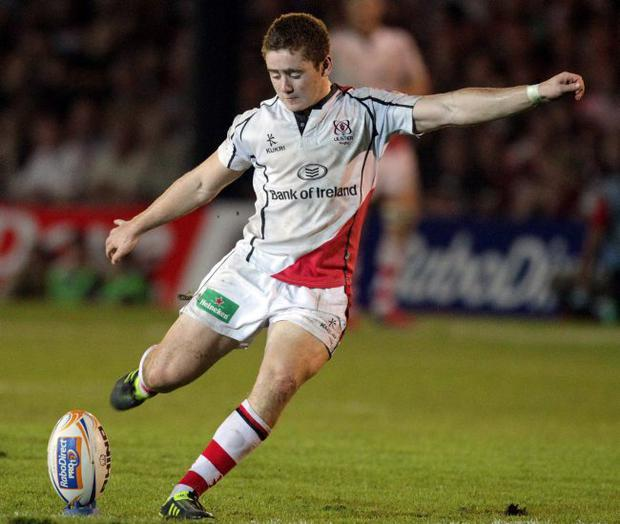 Hitting his targets: Paddy Jackson is now ready for a big finish at Twickenham