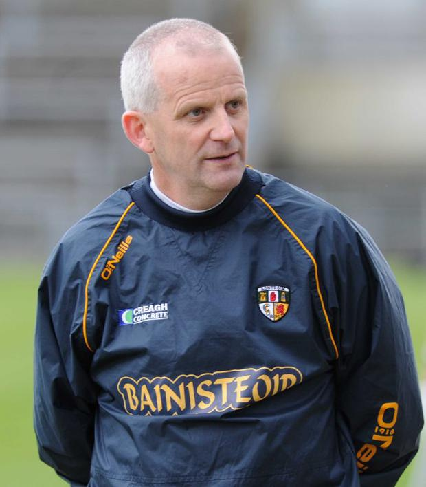 Slicked up: Jerry Wallace has Antrim playing with style
