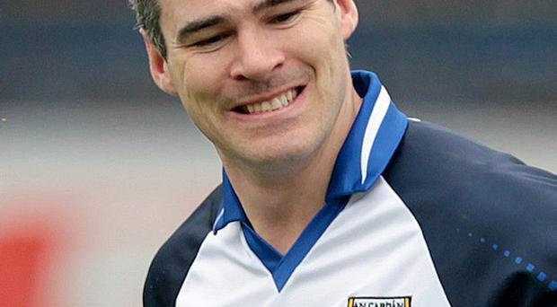 Lift it: Mark McKeever has called for Cavan to perform