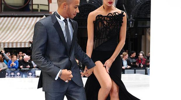 Lewis Hamilton and Nicole Scherzinger attended the premiere together