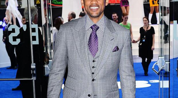 Will Smith at the premiere of new film Men In Black 3