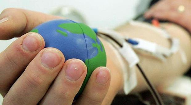 The NHS is launching a new campaign urging people to give blood
