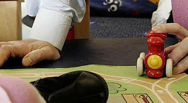 On average, a UK family spends 25 per cent of their net income on childcare, according to a report