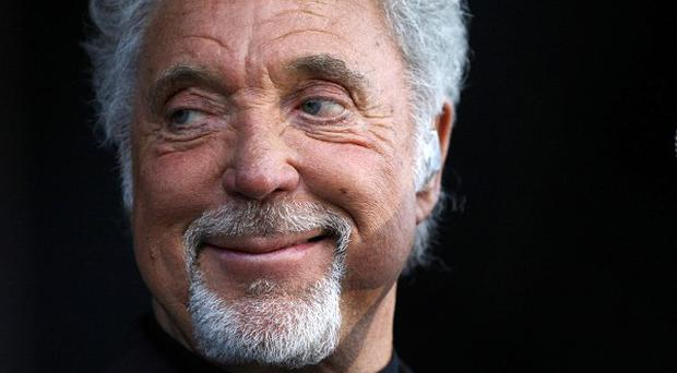 Tom Jones said he gets on well with Jessie J