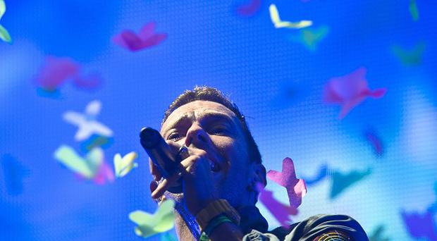 Chris Martin of Coldplay, who are set to perform at the Paralympic closing ceremony