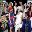 Ladies Day at the Balmoral Show in the King's Hall, Belfast. The Finalists of the Best Dressed Competition 18.05.12. PICTURE BY DAVID FITZGERALD