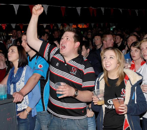Ulster rugby fans