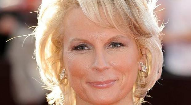 Jennifer Saunders - in tears during last days of filming in Fermanagh