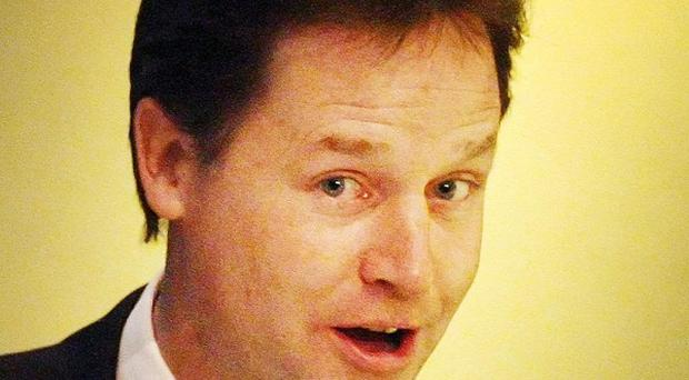 Inequality is a form of social engineering, Nick Clegg is due to say