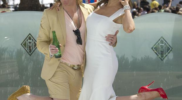 Kelly Brook stars alongside comic creation Keith Lemon in his big screen adventure