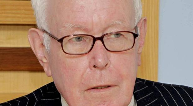 His Honour Mr Justice Peter Smithwick chairs the Dublin tribunal into suspected Garda-IRA collusion