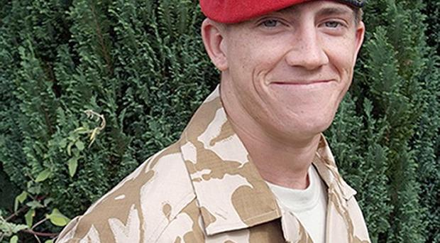Michael Pritchard was shot by a comrade who thought he was a Taliban insurgent, an inquest has heard (MoD/PA)