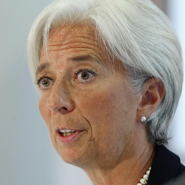 IMF head Christine Lagarde hopes Greek elections will produce a government committed to abiding by terms of the country's bailout