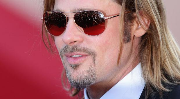 Actor Brad Pitt attends the 'Killing Them Softly' Premiere during 65th Annual Cannes Film Festival