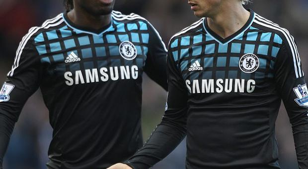 Didier Drogba (left) and Fernando Torres