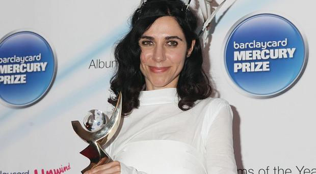 PJ Harvey was last year's Mercury Prize winner