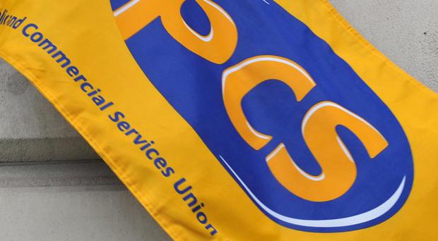 PCS members took part in last November's strike by public sector workers and are now planning further action
